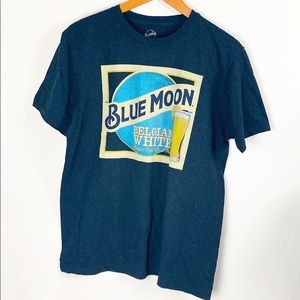 Blue Moon Belgian White Graphic Tee Size Medium